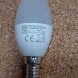 Лампа світлодіодна Horoz Ultra-6  6Вт 480 Лм 4200 К  Е14