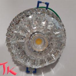 Вбудований світильник Feron JD 125 COB 10 W