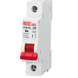Автоматичний вимикач Horoz SAFE 20A 1P B