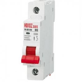Автоматичний вимикач Horoz SAFE 10A 1P B