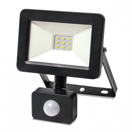 Прожектор з датчиком руху Vestum LED 10W 1000 Лм 6500K IP65