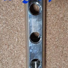 Гребінка з прохідними отворами Luxor 1″ х 3 х 1/2″ рВ