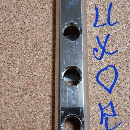 Гребінка з прохідними отворами Luxor 1″ х 4 х 1/2″ рВ