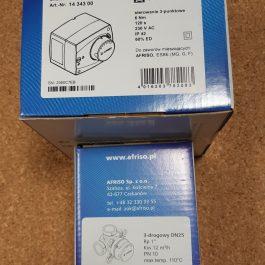 Комплект 3-ходовий клапан AFRISO ARV384  1″ + сервопривід ARM343