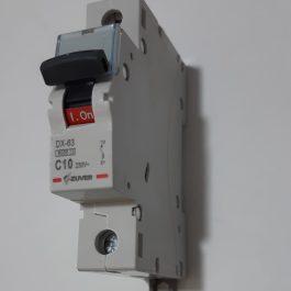 Автоматичний вимикач ZUVER DX-63 1P 32A 6kA AC