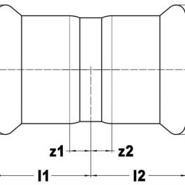Муфта KAN-therm Steel Ø 35×35 мм.