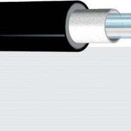 Відрізний нагрівальний двожильний кабель Nexans TXLP Twin on Drum 8.6 Ohm/m black