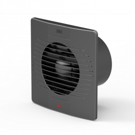 Вентилятор Horoz 12 Вт  ∅10 см, графіт