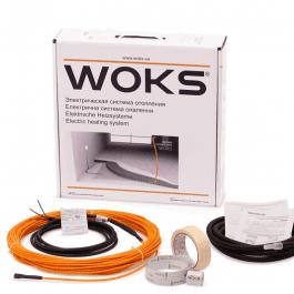 Комплект нагрівального кабелю Woks 10   850 Вт  89 м.
