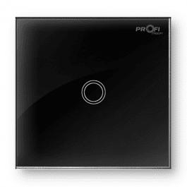 Вимикач сенсорний Profi therm 1TP, Elegant Black