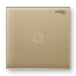 Вимикач сенсорний Profi therm 1TP, Pure Gold
