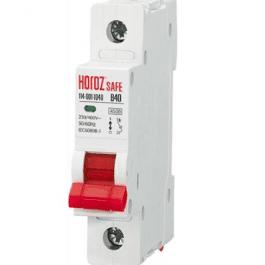 Автоматичний вимикач Horoz SAFE 40A 1P B